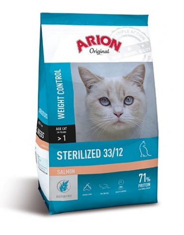 Arion Original Cat Steril Salmon 300g