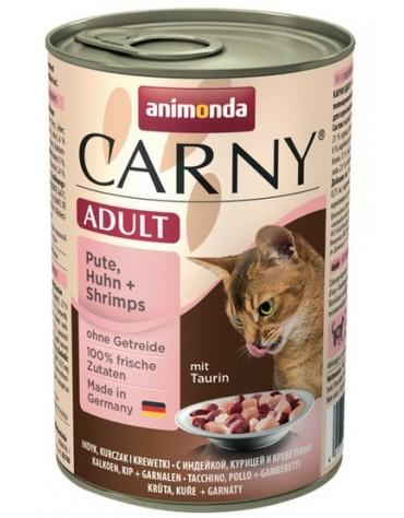 Animonda Carny Adult Indyk + Kurczak + Krewetki puszka 400g