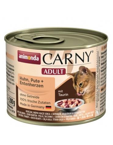 Animonda Carny Adult Kurczak, Indyk + Kacze serca puszka 200g