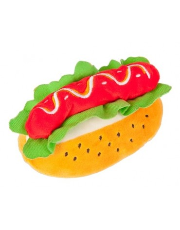 Dingo Zabawka dla psa - Pluszowy hot-dog