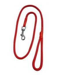 CHABA Smycz linka - 14mm x 120cm czerwona