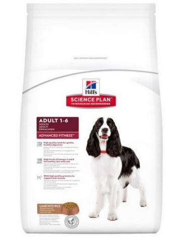 Hill's Advanced Fitness Adult Medium Lamb & Rice 12kg