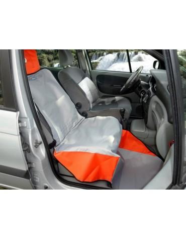 Kardiff Activ Mata samochodowa na przedni fotel czarno-czerwona