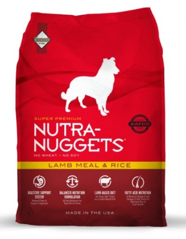 Nutra Nuggets Lamb & Rice Dog 3kg