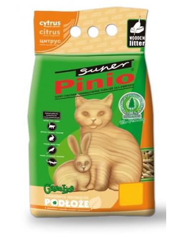 Super Pinio Cytryna żwirek drewniany 10L