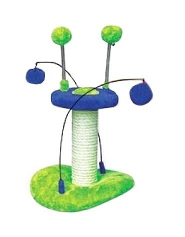 Yarro Drapak Mini UFO zielono-niebieski 23x24x25cm [Y1154]