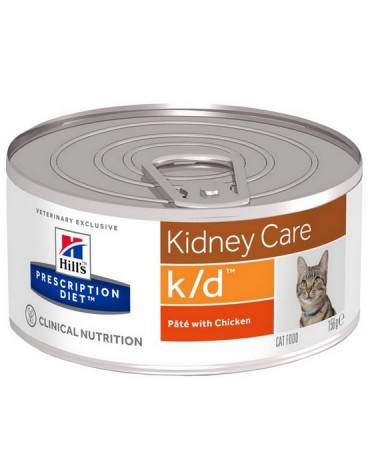 Hill's Prescription Diet k/d Feline z kurczakiem puszka 156g