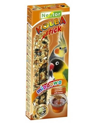 Nestor Kolba Papuga średnia miodowa 2szt