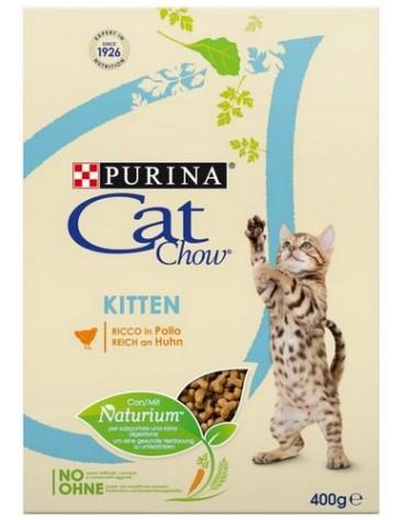 Purina Cat Chow Kitten z Kurczakiem 400g