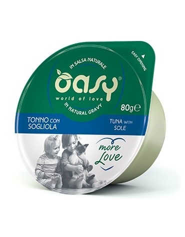 Oasy Kot More Love Cup Tuńczyk i sola kubek 80g