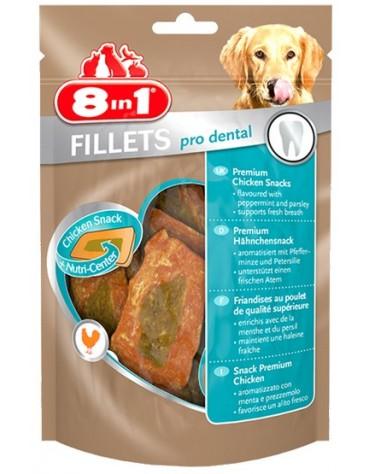 8in1 Fillets Pro Dental - przekąska na świeży oddech 80g