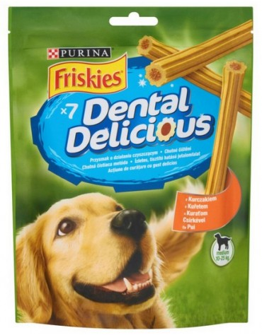 Friskies Dental Delicious Medium & Large +10kg 200g
