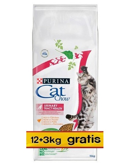 Purina Cat Chow Special Care Urinary Tract Health 15kg (12+3kg gratis)