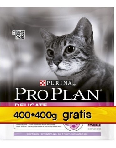 Purina Pro Plan Cat Delicate Optirenal 400+400g
