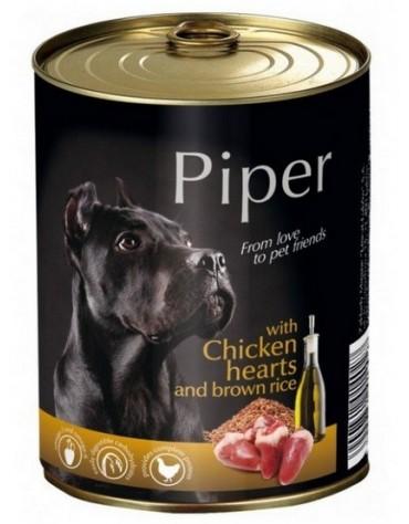 Piper Pies Serca kurczaka i ryż puszka 400g