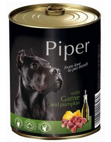Piper Pies Dziczyzna i dynia puszka 400g