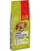 Purina Dog Chow Adult Jagnięcina 14kg (11+3kg gratis)