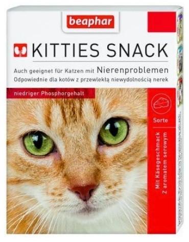 Beaphar Kitties Snack - przysmak dla kotów z wrażliwymi nerkami 75 tabl.