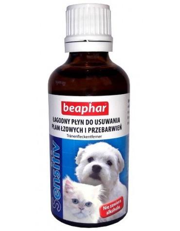 Beaphar Łagodny płyn do usuwania plam łzowych 50ml