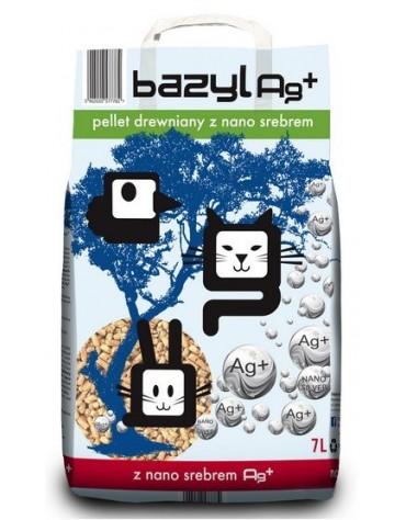 Bazyl Ag+ Pellet drewniany 7L