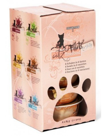 Catz Finefood Filety Multipack I N.403-413 tacki 6x85g