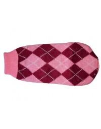 """Doggy Fashion Golf 35cm/12"""" różowy ze wzorem"""