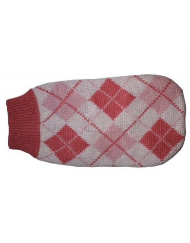 """Doggy Fashion Golf 20cm/6"""" różowy ze wzorem"""