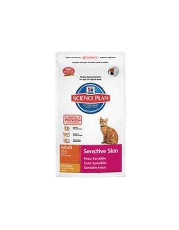 Hill's Feline Adult Sensitive Skin Chicken 1,5kg