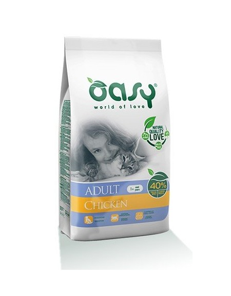 Oasy Kot Dry Kurczak 300g