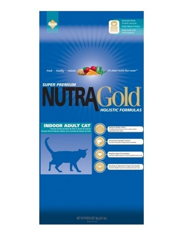Nutra Gold Holistic Indoor Adult Cat 3kg
