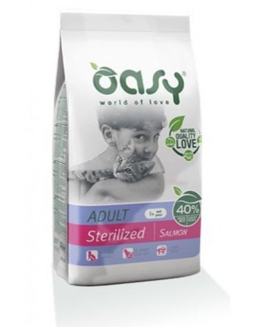 Oasy Kot Dry Sterilized Łosoś 300g