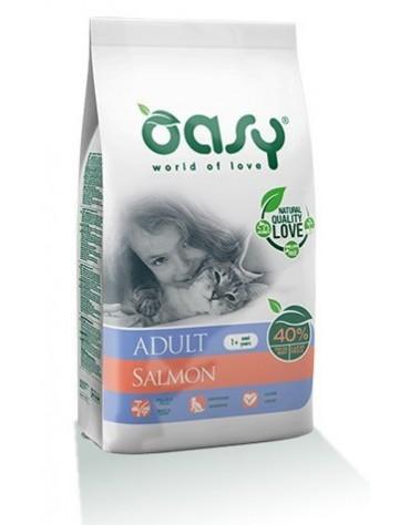 Oasy Kot Dry Łosoś 1,5kg