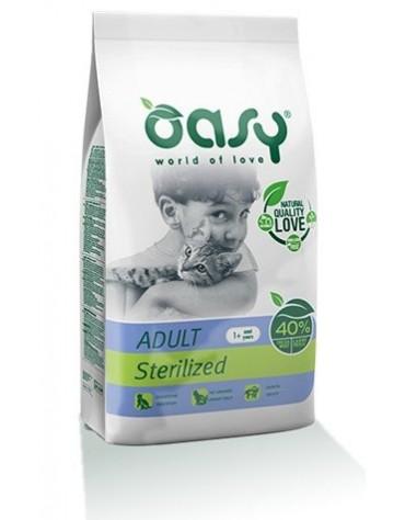Oasy Kot Dry Sterilized Kurczak 1,5kg