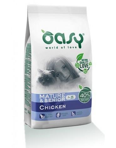 Oasy Kot Dry Mature & Senior Kurczak 1,5kg