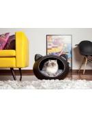 Guisa posłanie dla kota czarne 44x51x35 cm