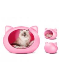 Guisa posłanie dla kota różowe 40x52x40 cm