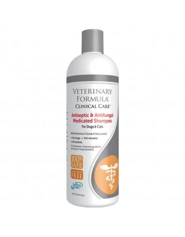 VFCC Leczniczy szampon antyseptyczny i przeciwgrzybiczy dla psów i kotów 473 ml