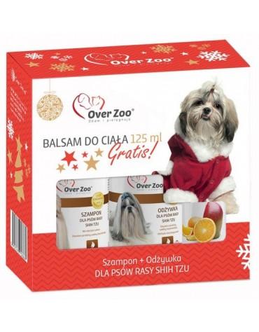 Over Zoo Zestaw Świąteczny Szampon + Odżywka dla Shih Tzu + balsam 125ml gratis