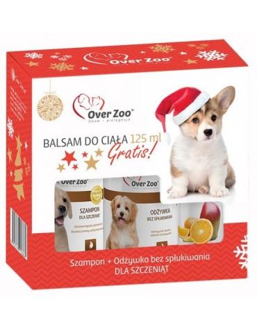 Over Zoo Zestaw świąteczny Szampon dla szczeniąt + Odżywka bez spłukiwania + balsam 125ml gratis