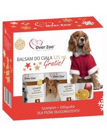 Over Zoo Zestaw Świąteczny Szampon + Odżywka dla psów długowłosych + balsam 125ml gratis!