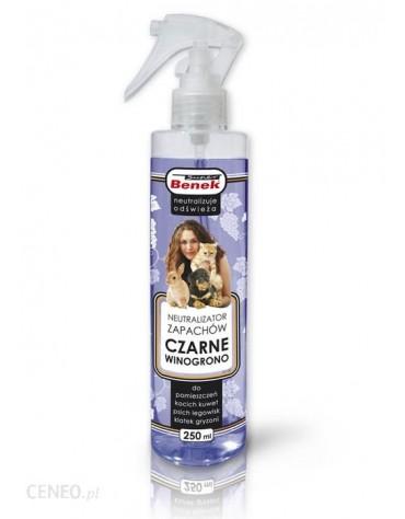 Benek Neutralizator Spray - Czarne winogrono 250ml