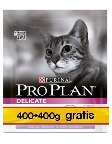 Purina Pro Plan Cat Delicate Optirenal 800g (400+400g gratis)