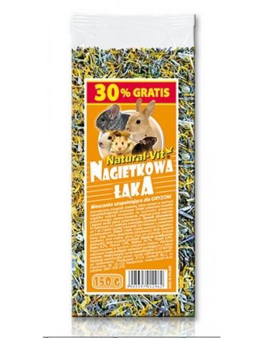 Natural-Vit Nagietkowa Łąka mieszanka dla gryzoni 150g