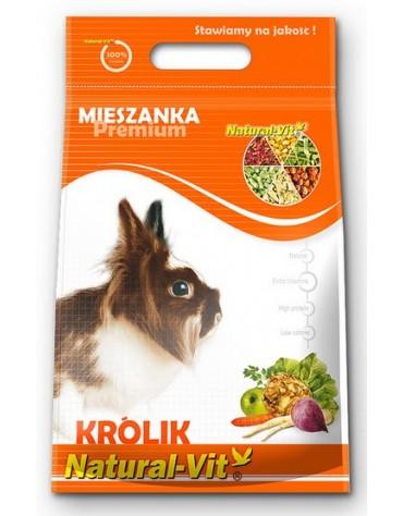 Natural-Vit Mieszanka dla królików Premium 500g [840]