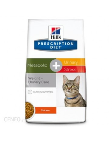 Hill's Prescription Diet Metabolic+Urinary Stress Feline 4kg