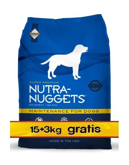 Nutra Nuggets Maintenance Dog PROMOCJA 18kg (15kg+3kg)