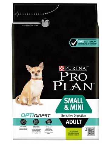 Purina Pro Plan Adult Small & Mini OptiDigest Sensitive Digestion Lamb 3kg