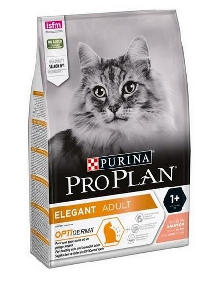 Purina Pro Plan Cat Elegant OptiDerma Łosoś 10kg