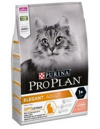 Purina Pro Plan Cat Elegant OptiDerma Łosoś 10kg
