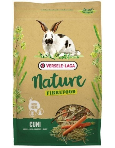 Versele-Laga Fibrefood Cuni Nature wysokobłonnikowy pokarm dla królika 1kg